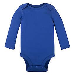 Lamaze® Size 6-9M Organic Cotton Long Sleeve Bodysuit in Royal Blue