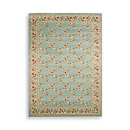 Safavieh Lyndhurst Collection Feodore 3-Foot 3-Inch x 5-Foot 3-Inch Rectangle Rug in Blue