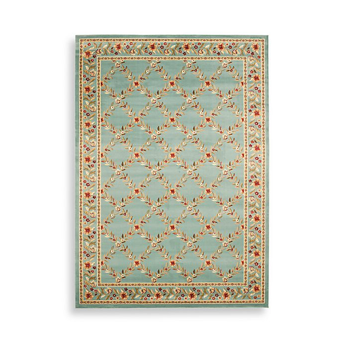 Alternate image 1 for Safavieh Lyndhurst Collection Feodore 7-Foot Square in Blue