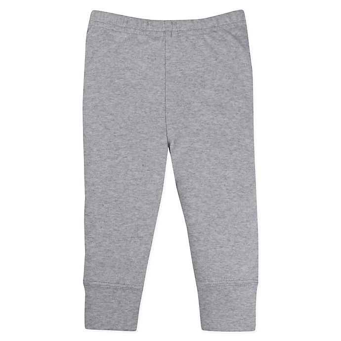 Alternate image 1 for Lamaze® Size 12M Organic Cotton Knit Pant in Grey