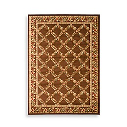 Safavieh Lyndhurst Collection Brown Feodore 2-Foot 3-Inch x 12-Foot Runner