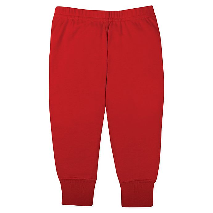 Alternate image 1 for Lamaze® Size 12M Organic Cotton Knit Pant in Red