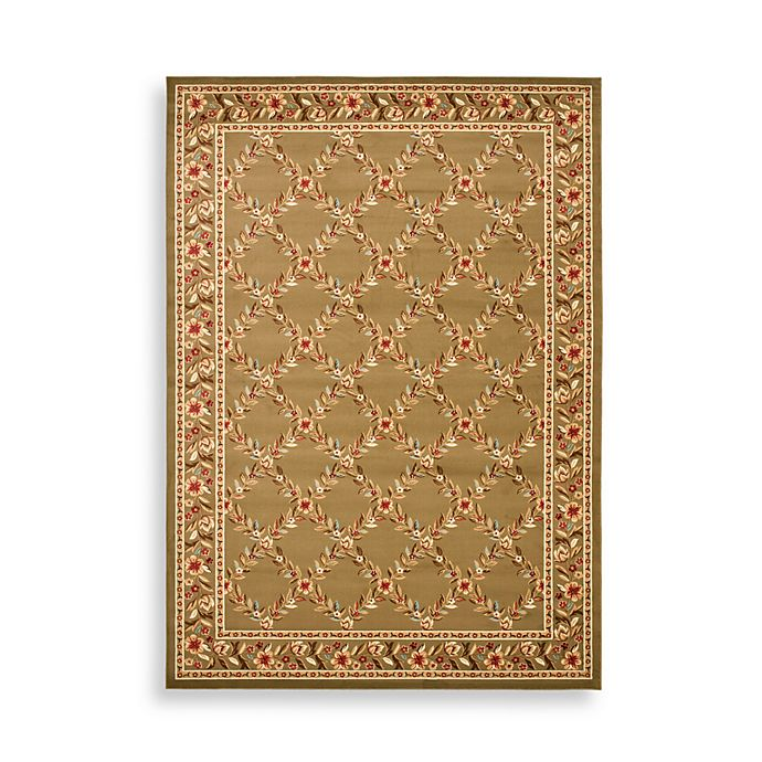 Alternate image 1 for Safavieh Lyndhurst Collection Feodore Rugs in Green