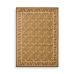 Safavieh Lyndhurst Collection Feodore 3-Foot 3-Inch x 5-Foot 3-Inch Rectangle Rug in Green