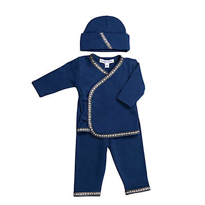 Sippy's Babes 3-Piece Take Me Home Set in Navy