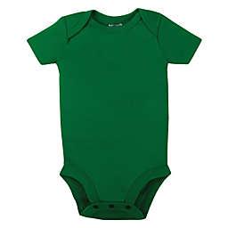 Lamaze® Size 12M Organic Cotton Short Sleeve Bodysuit in Green