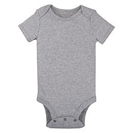 Lamaze® Organic Cotton Short Sleeve Bodysuit in Grey