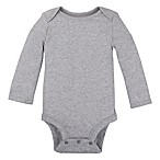 Lamaze® Size 6-9M Organic Cotton Long Sleeve Bodysuit in Grey