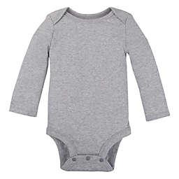 Lamaze® Organic Cotton Long Sleeve Bodysuit in Grey