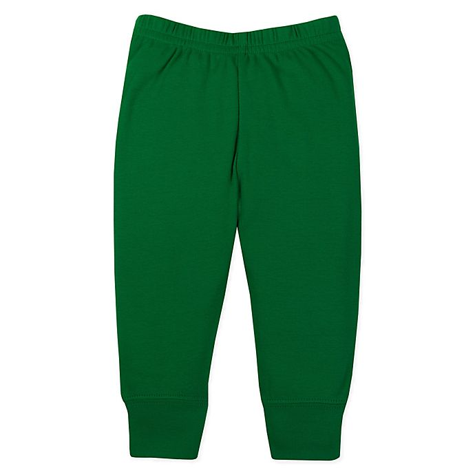 Alternate image 1 for Lamaze® Size 12M Organic Cotton Knit Pant in Green