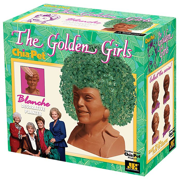Alternate image 1 for Chia Pet® The Golden Girls Planter Collection