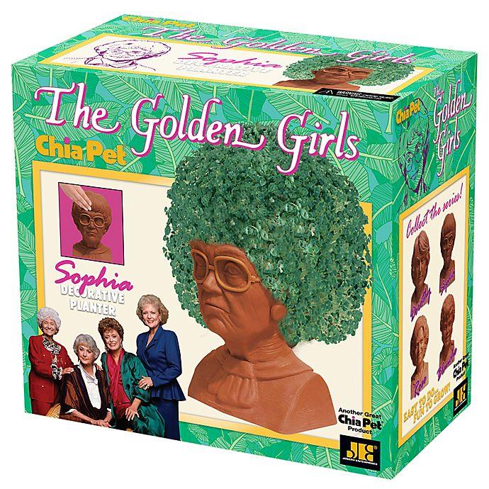 Alternate image 1 for Chia Pet® The Golden Girls Sophia Planter