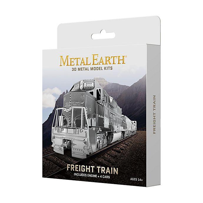 Alternate image 1 for Fascinations Metal Earth 3D Metal Model Kit - Freight Train Box Set