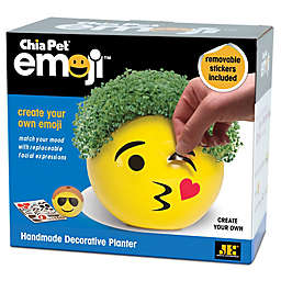 Chia Pet® Emoji™ Create Your Own Handmade Pottery Planter