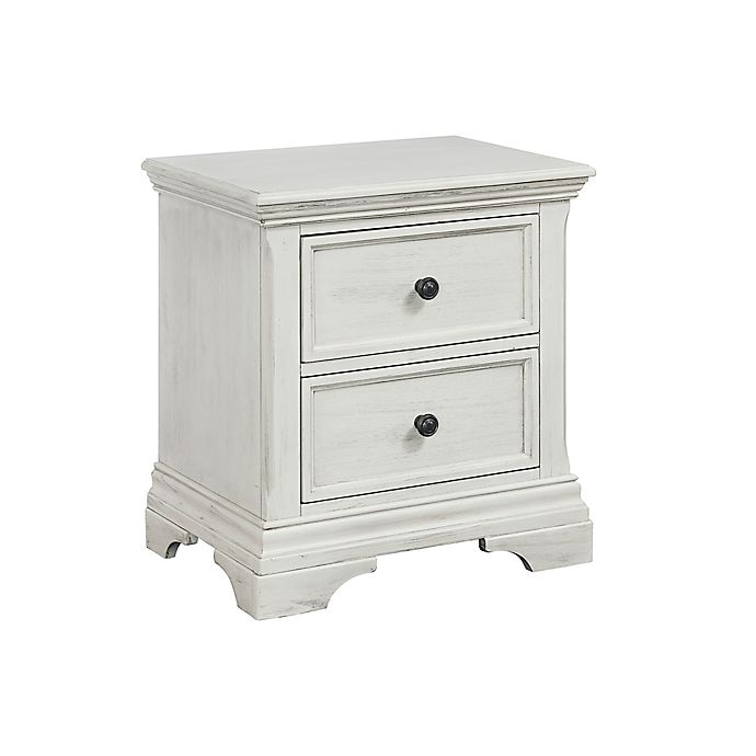 Alternate image 1 for Westwood Design Olivia 2-Drawer Nightstand in White
