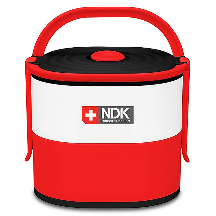 Alternate image 1 for NDK Double Decker 57 oz. Food Container