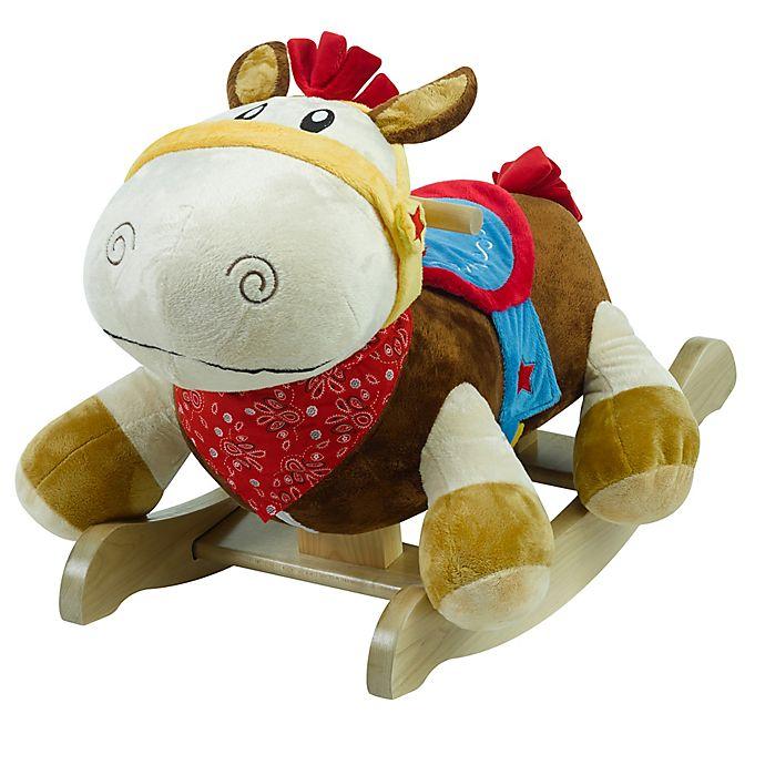Alternate image 1 for Rockabye™ Colt Pony Musical Rocker