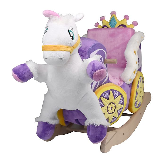 Alternate image 1 for Rockabye™ Princess Carriage Musical Play and Rock