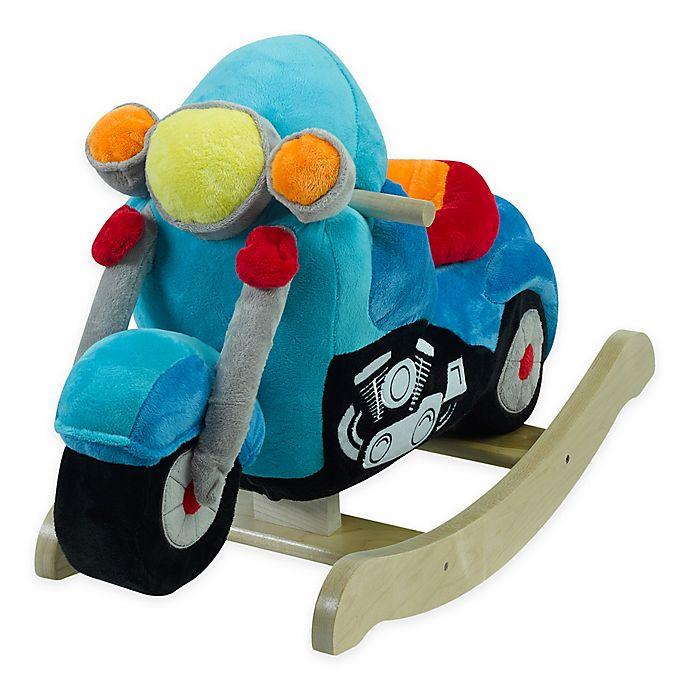 Alternate image 1 for Rockabye™ Lil' Biker Motorcycle Musical Rocker