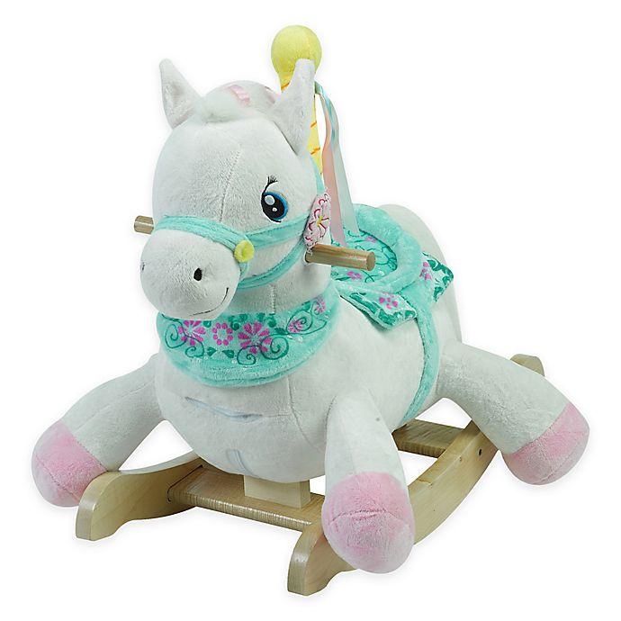Alternate image 1 for Rockabye™ Carousel Horse Musical Rocker