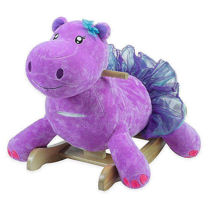 Alternate image 1 for Rockabye™ Gracie the Hippo Musical Rocker