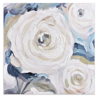 Renwil Hand Painted Rose Close Up Bouquet Wall Art