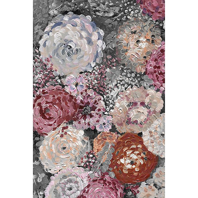 Alternate image 1 for Marmont Hill Peony Punch 30-Inch x 45-Inch Canvas Wall Art