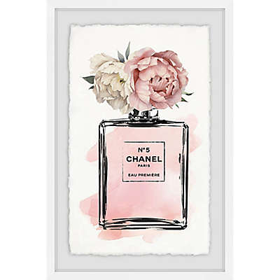 Marmont Hill Floral Blush Framed Wall Art