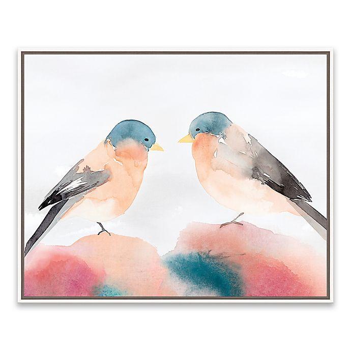 Alternate image 1 for Chickadee III 20.88-Inch x 16.88-Inch Canvas Wall Art