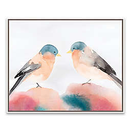 Chickadee III 20.88-Inch x 16.88-Inch Canvas Wall Art