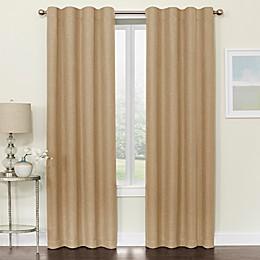 Brielle Room Darkening Rod Pocket/Back Tab Window Curtain Panel