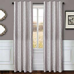 Sawyer Solid Rod Pocket/Back Tab Window Curtain Panel (Single)