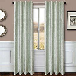 Sawyer Solid 108-Inch Rod Pocket/Back Tab Window Curtain Panel in Spa