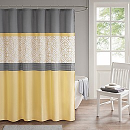 510 Design Donnel Embroidered Shower Curtain