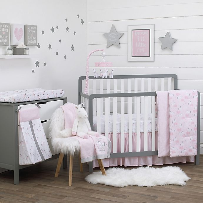 Alternate image 1 for NoJo® Unicorn Crib Bedding Collection