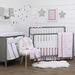 NoJo® Unicorn 4-Piece Crib Bedding Set