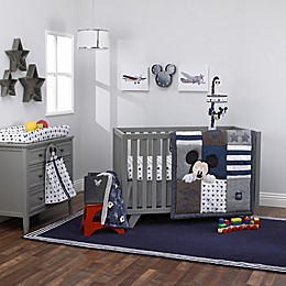 "Disney® Mickey Mouse ""Hello World"" Crib Bedding Collection"