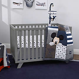 Blue Disney Mickey Changing Table Cover
