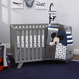 Disney Mickey Mouse Hello World 4 Piece Crib Bedding Set