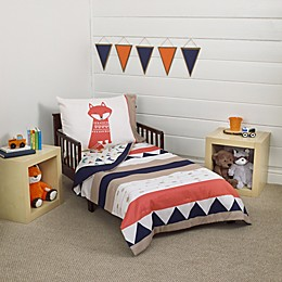 carter's® Aztec 4-Piece Toddler Bedding Set in Navy