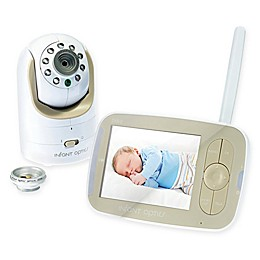 Infant Optics DXR-8 3.5-Inch LCD Video Baby Monitor in White/Beige