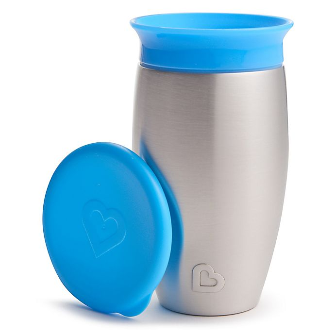 Alternate image 1 for Munchkin® Miracle® 10 oz. 360 Stainless Steel Sippy Cup