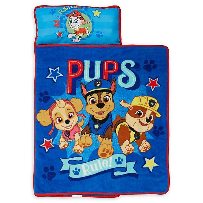 Alternate image 1 for Nickelodeon™ PAW Patrol Pups Rule Nap Mat in Blue