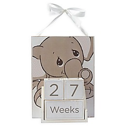 Precious Moments® 4-Piece Baby Elephant Milestone Block Set and Wall Art