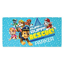 PAW Patrol™ Ruff Ruff Beach Towel in Blue
