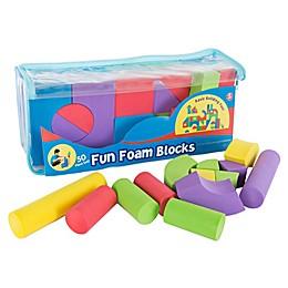 Hey! Play! 50-Piece Foam Building Blocks