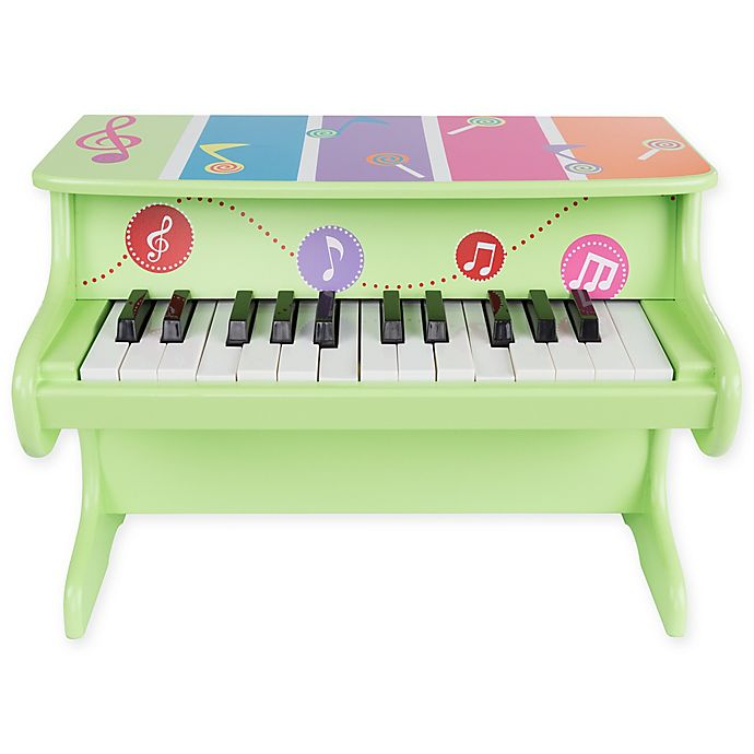 Alternate image 1 for Hey! Play! 25-Key Musical Toy Piano in Green