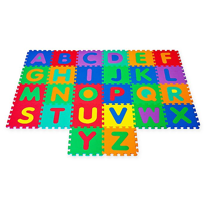 Interlocking Foam Tile Play Mat With