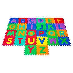 Hey! Play! Foam Floor Alphabet Puzzle Learning Mat