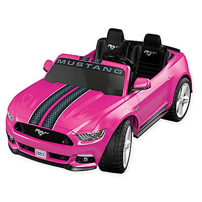 Fisher-Price® Power Wheels® Smart Drive™ Ford Mustang in Pink